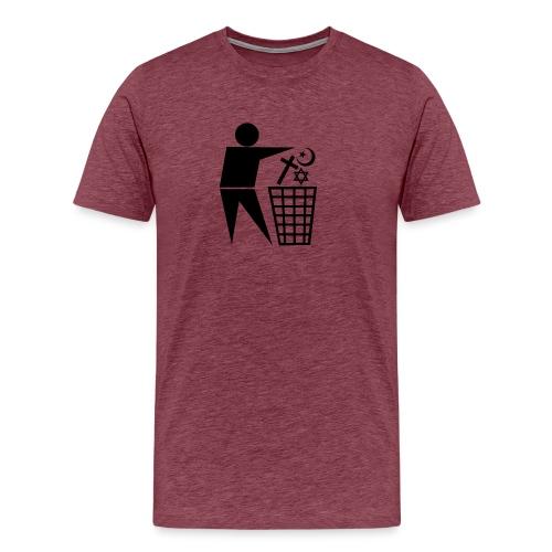 Anti Religion # 1 - Men's Premium T-Shirt