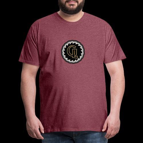 Glimmer logo - Premium T-skjorte for menn
