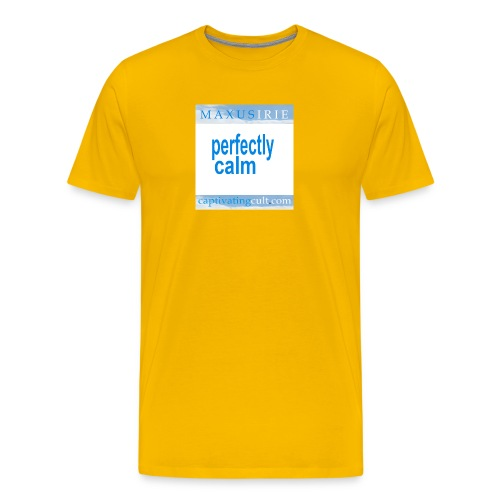 Maxus Irie Perfectly Calm - Men's Premium T-Shirt
