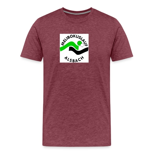 Melibokuslauflogo_inFarbe - Männer Premium T-Shirt