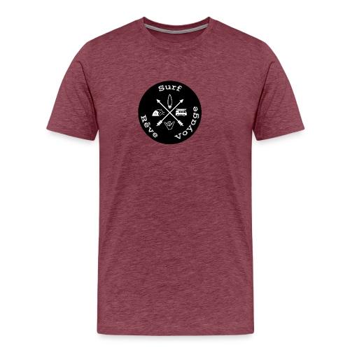 Surf rêve voyage - T-shirt Premium Homme