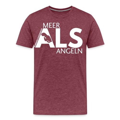 MEER_ALS_ANGELN - Männer Premium T-Shirt