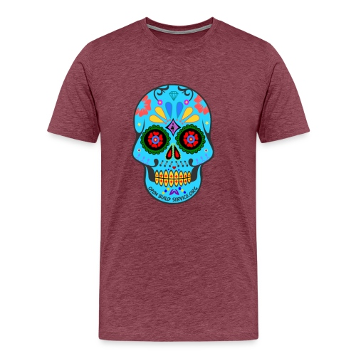 OBS-Skull-Sticker - Men's Premium T-Shirt