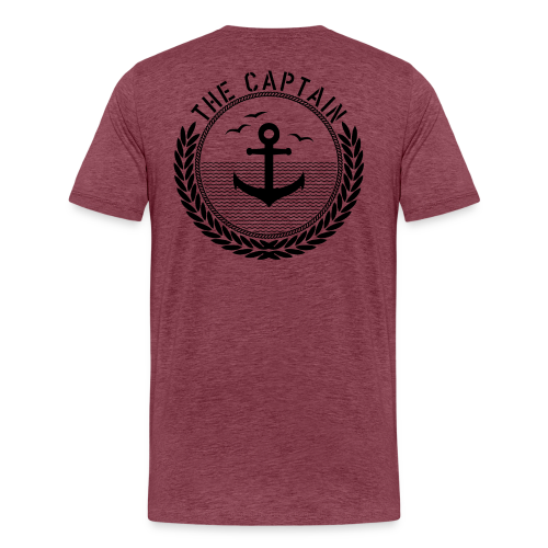 The Captain - Anchor - Männer Premium T-Shirt