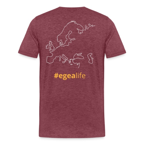 #egealife - Men's Premium T-Shirt