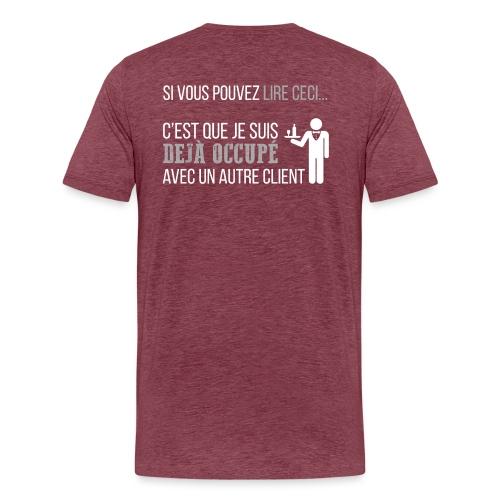 LE SERVEUR EST OCCUPÉ - T-shirt Premium Homme