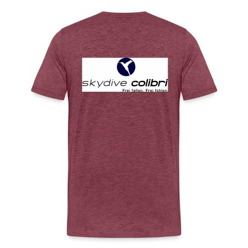 colibrilogo - Männer Premium T-Shirt