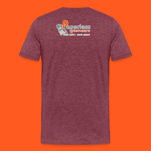 LOGO_Paperless_Pioneers_L - Männer Premium T-Shirt