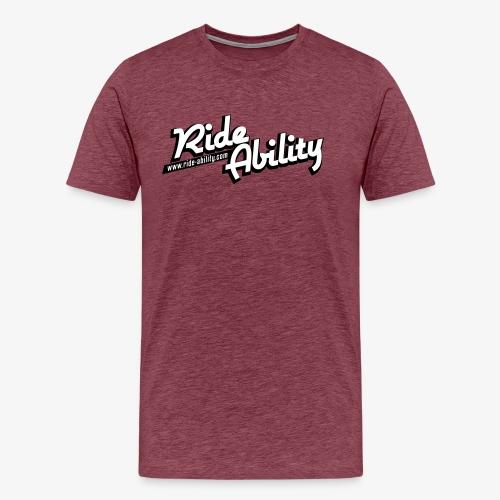 RideAbility Morzine - T-shirt Premium Homme