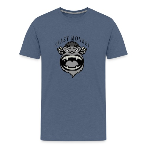 CRAZY MONKEY collection - T-shirt Premium Homme