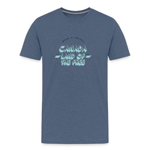 CANADA Work and Travel Geschenkidee - Männer Premium T-Shirt