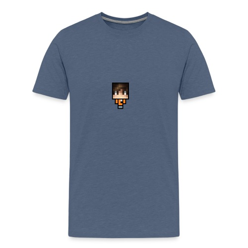 Azhbark Minecraft Fig - Herre premium T-shirt