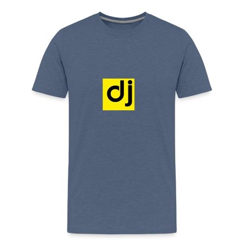 DJ - Premium T-skjorte for menn