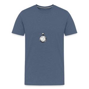 johnny_automatic_pocket_watch - Koszulka męska Premium