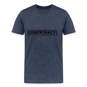 CONZPIRACY wording - Men's Premium T-Shirt