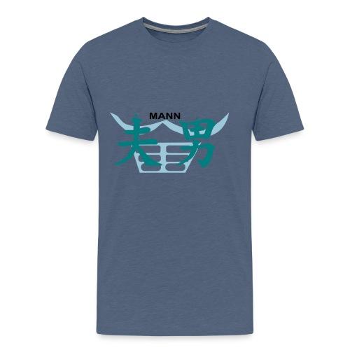 Chin Mann - Männer Premium T-Shirt