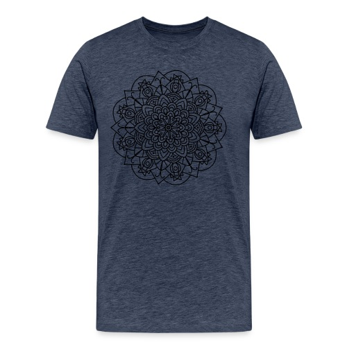 Beetle Mandala - Men's Premium T-Shirt