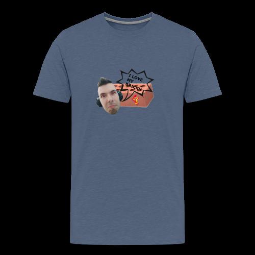 I love my Brick - Teeth 2017 - Men's Premium T-Shirt