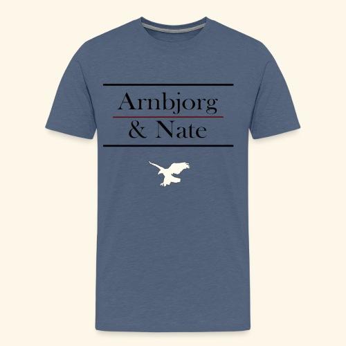 Arnbjorg & Nate - Männer Premium T-Shirt