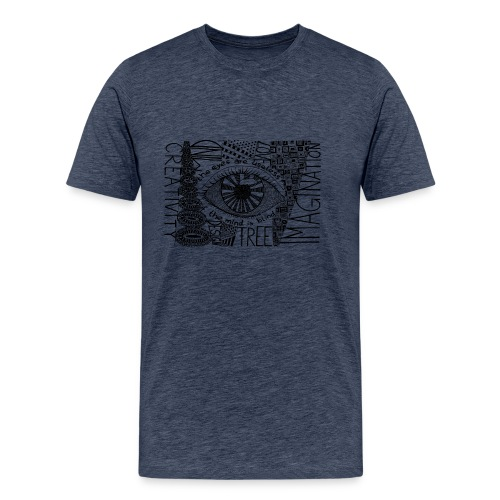Doodle Art Imagination - Männer Premium T-Shirt