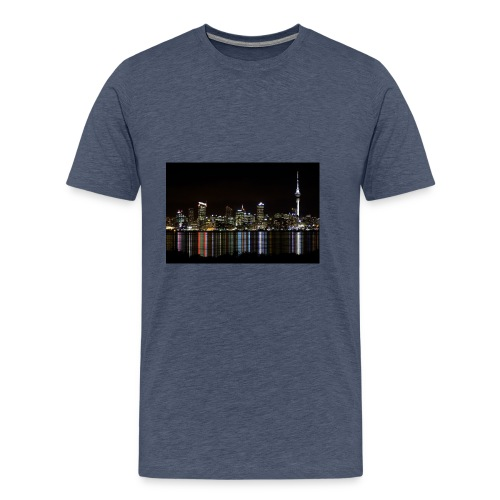 auckland-new-zealand - Premium-T-shirt herr
