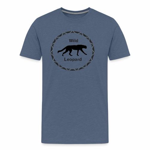 Wild Leopard - Männer Premium T-Shirt