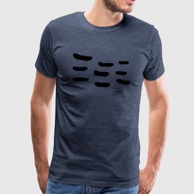 board board board-for-Spreadshirt print - Miesten premium t-paita