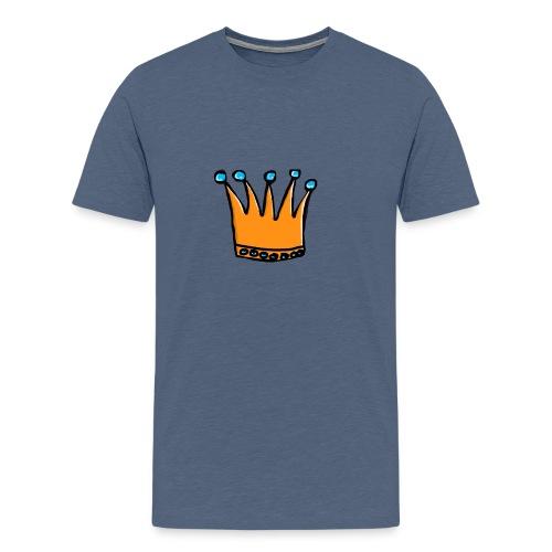Cartoon logo - Mannen Premium T-shirt