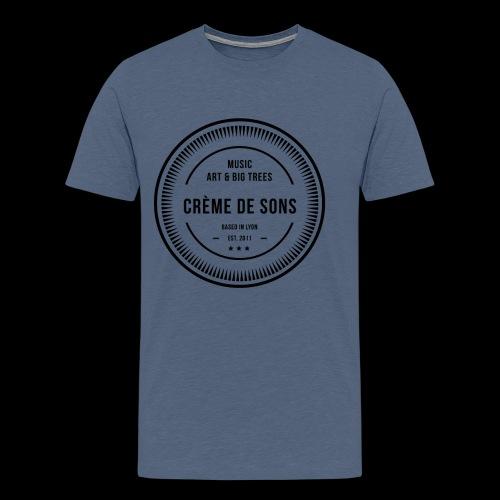 Creme De Sons Logo V3 - T-shirt Premium Homme