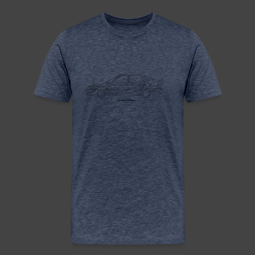 Limited Edition 9-3 Zwart - Mannen Premium T-shirt