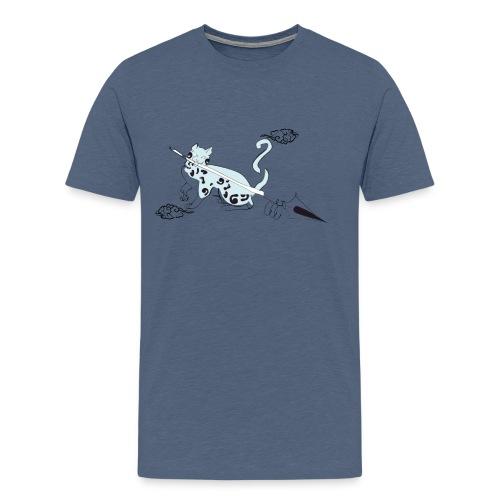 chat de al brume 02 - T-shirt Premium Homme