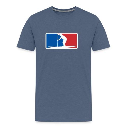 Stand Up Paddle SUP League - Männer Premium T-Shirt