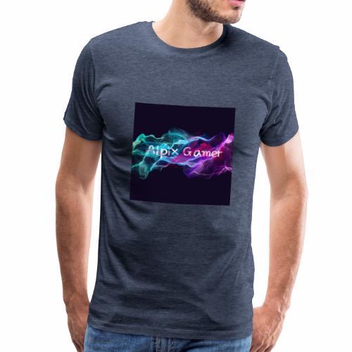 Neu Alpix Gamer Emblem - Männer Premium T-Shirt