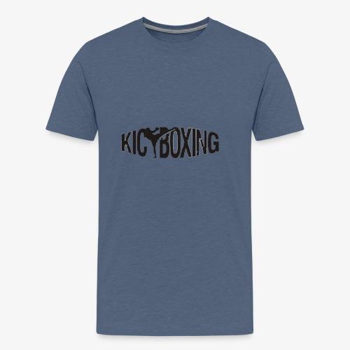 LOGO KICKBOXING - Männer Premium T-Shirt
