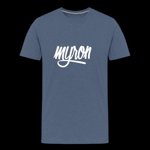 Myron - Mannen Premium T-shirt