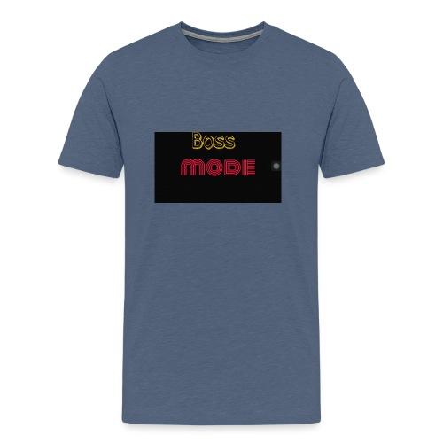 Boss mode - Men's Premium T-Shirt