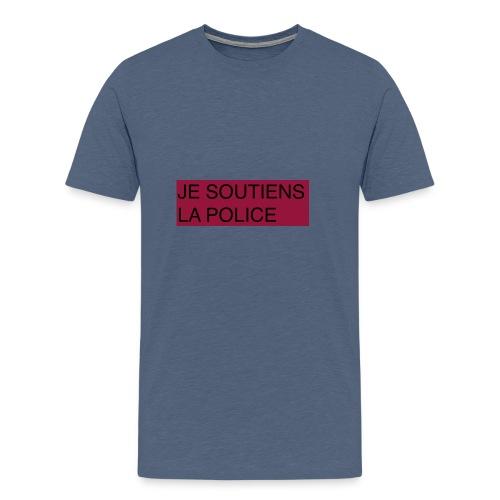 SOUTIENS POLICE - T-shirt Premium Homme