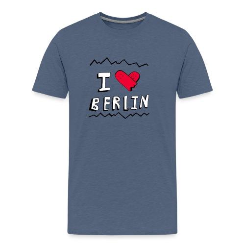 I <3 Skateboarding Berlin - Männer Premium T-Shirt