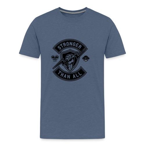 HOLD FAST ORIGINALS The Stongest - Männer Premium T-Shirt