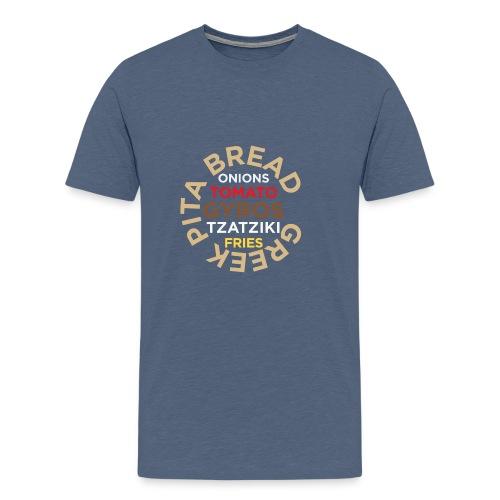 PITA gyros - Men's Premium T-Shirt