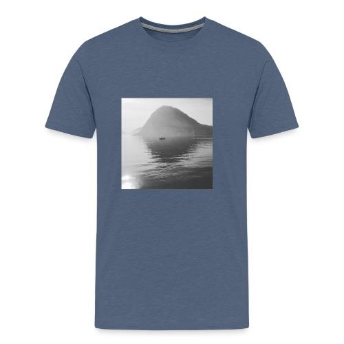 quiet lake - Men's Premium T-Shirt
