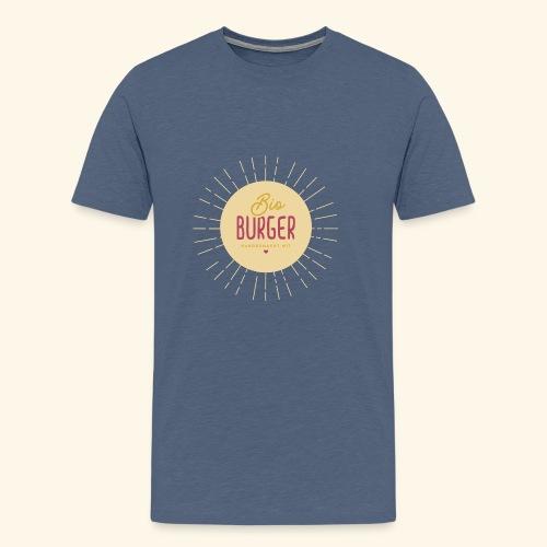 BIO BURGER - handgemacht mit Liebe - Männer Premium T-Shirt