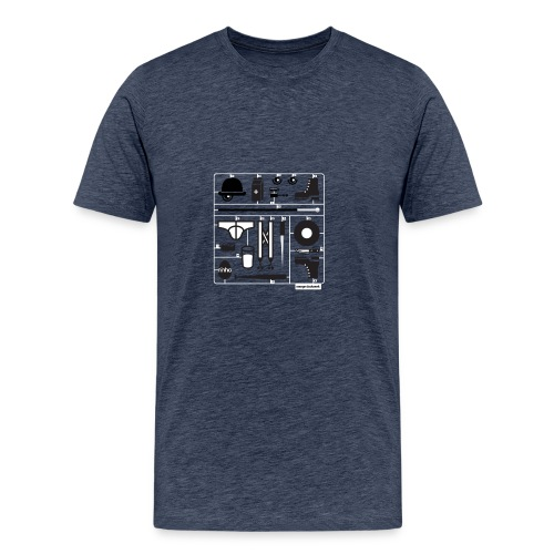 Ninho Orange Clockworks - Maglietta Premium da uomo