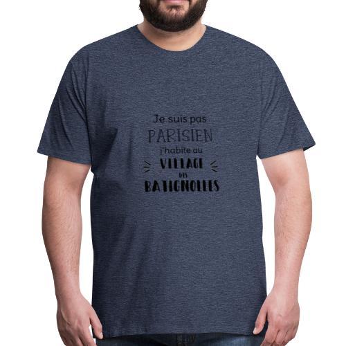 pas parisien Batignolles - T-shirt Premium Homme