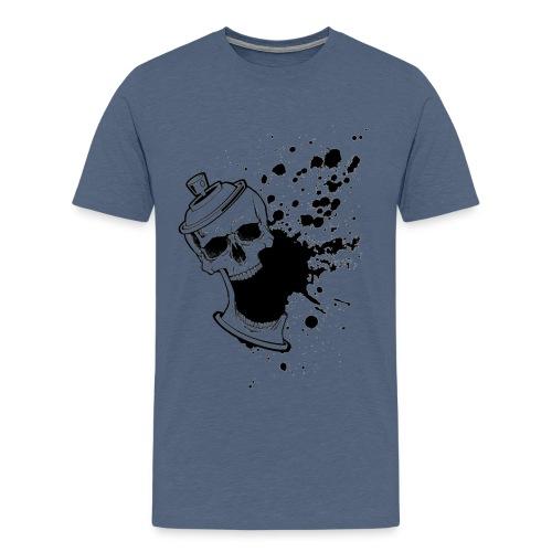 skullpaint - Mannen Premium T-shirt