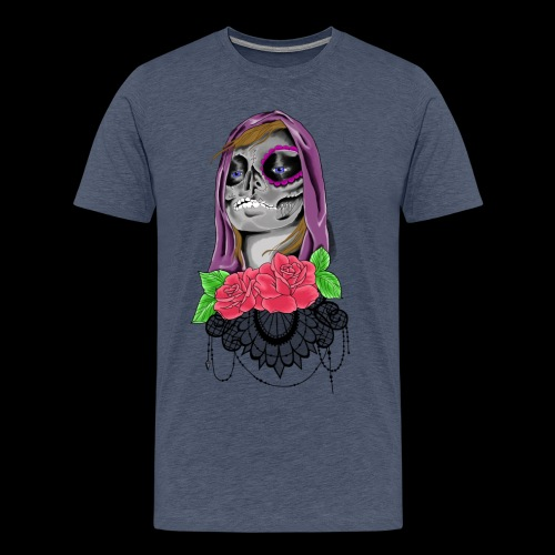 Day of the dead girl - Premium-T-shirt herr