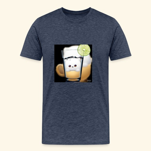 süsses kätzchen im glas - Männer Premium T-Shirt