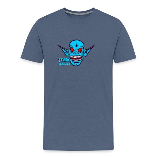 Team Bergsten logo - Premium-T-shirt herr