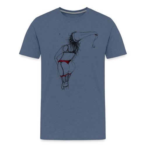 X-Mas_Frau - Männer Premium T-Shirt