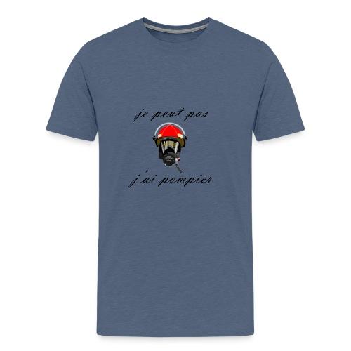 je peut pas j ai pompier - T-shirt Premium Homme